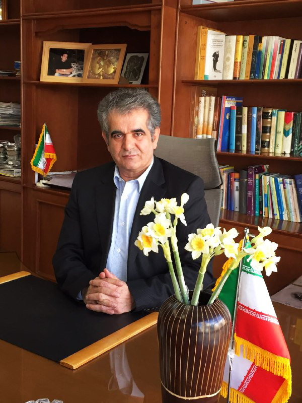 رحیم ملکی، مدیرعامل پشم شیشه پار
